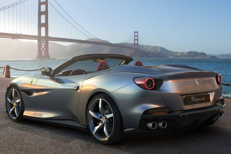 페라리의 새로운 컨버터블 슈퍼카, '2021 포르토피노 M' 공개, GT모델, 스파이더