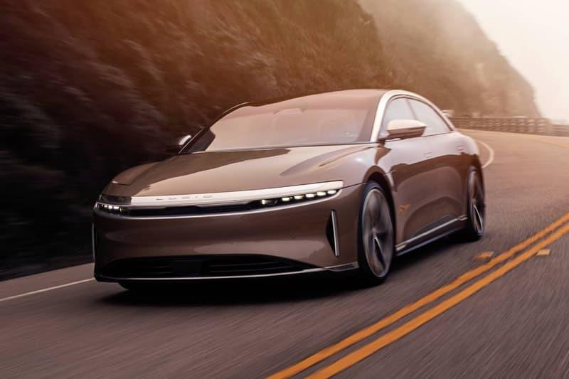 테슬라 대항마, 전기차 '루시드 에어'의 실제 주행 테스트 영상이 공개됐다, EV 모델