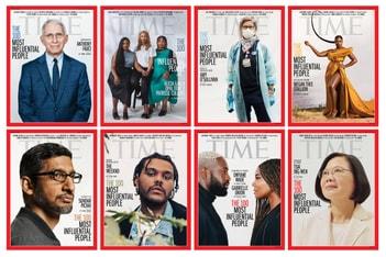 Picture of 미국 '타임'지, 2020년 세계에서 가장 영향력 있는 100인 선정