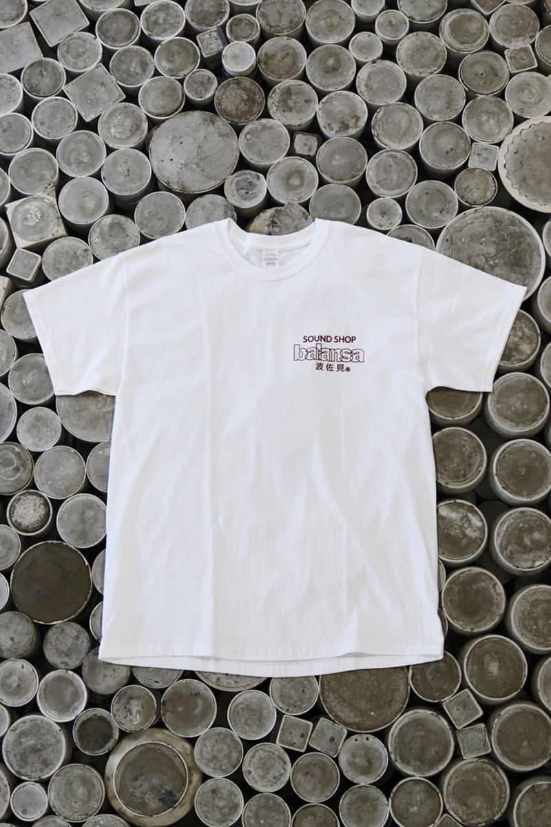발란사와 일본 공예품 회사 하사미의 협업 컬렉션 공개, 티셔츠, 머그컵, 재떨이