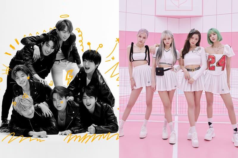 방탄소년단 & 블랙핑크의 이번주 빌보드 '핫 100' 차트 순위는? 빌보드차트, 글로벌 차트, YG, 빅히트, Ice Cream, Dynamite