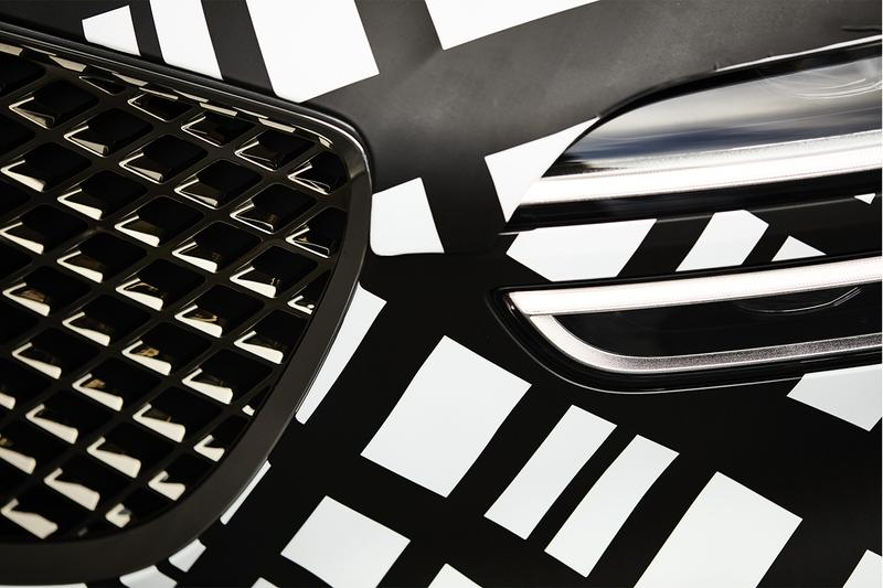 제네시스, 지-매트릭스 패턴으로 뒤덮인 GV70 최초 공개, 카무플라주, SUV, 현대자동차, 현대차, 현기차
