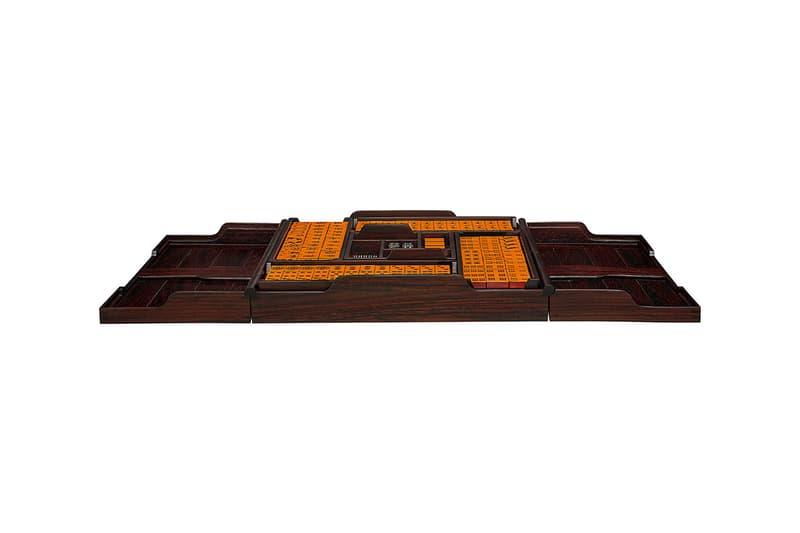 에르메스, 시그니처 오렌지 컬러 가죽으로 제작한 마작 세트 '헬리오스' 출시