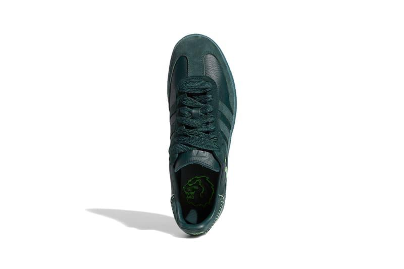 조나 힐 x 아디다스 오리지널스 삼바 컬러웨이 2종 출시 정보, 그린 나이트/미네랄 그린/에크루 틴트, 마룬/노블 마룬/에크루 틴트, 아디다스 신발, 아디다스 스니커