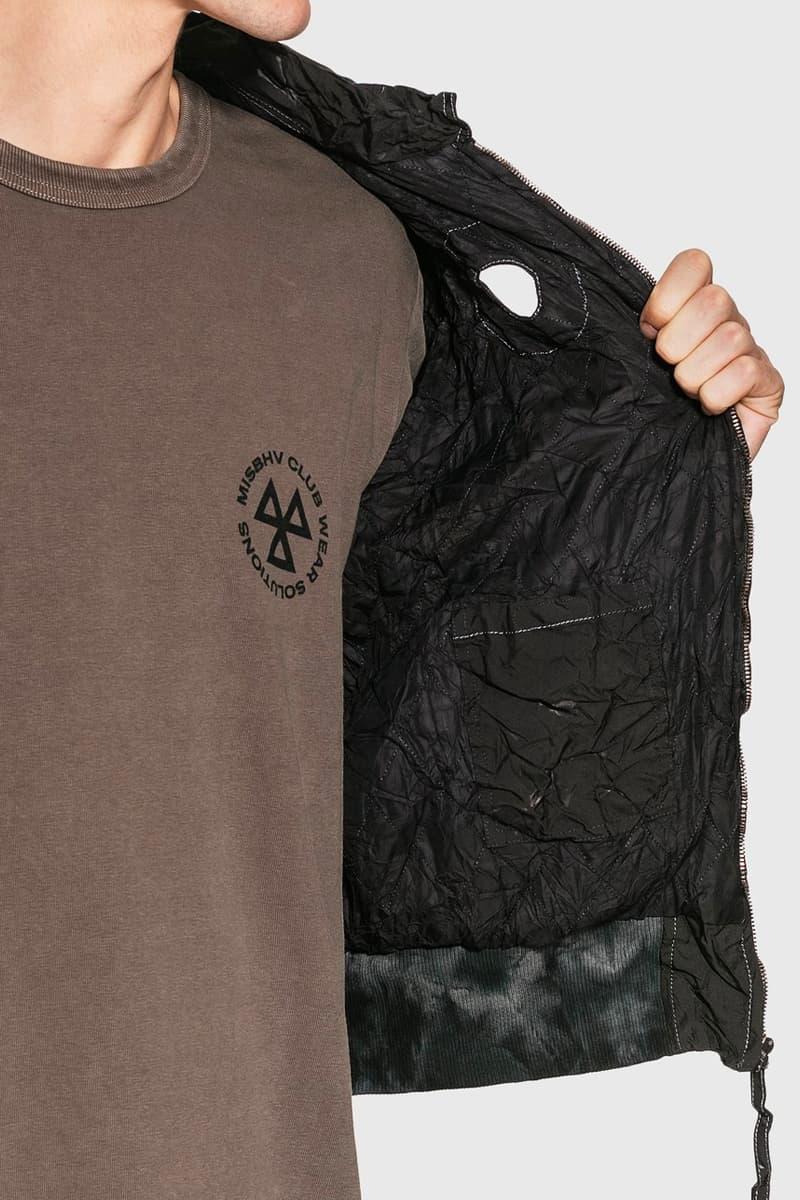 강혁을 대표하는 소재, 에어백이 활용된 레디메이드 에어백 쉬링크 봄버 재킷, kanghyuk, HBX, 직구