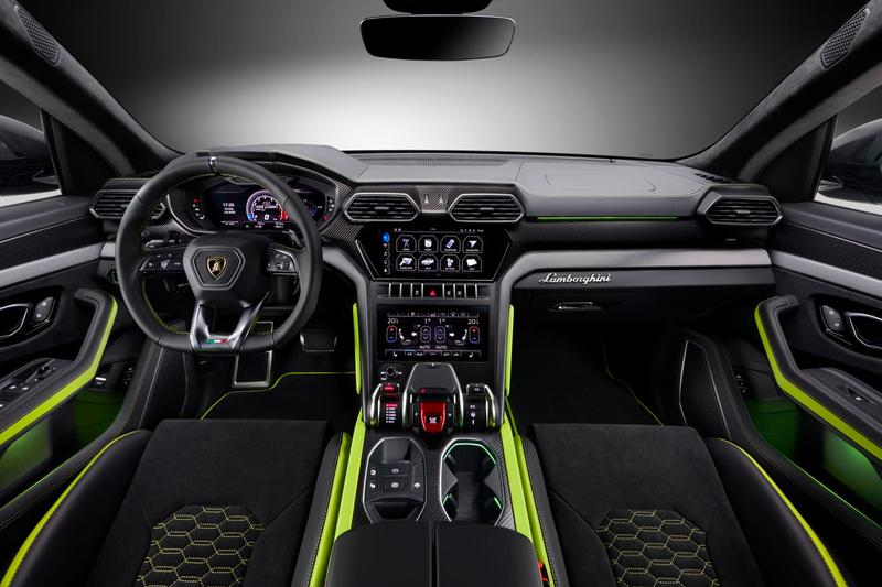 람보르기니 우루스를 위한 전용 컬러 커스텀 '우루스 그라파이트 캡슐' 출시, 슈퍼 SUV