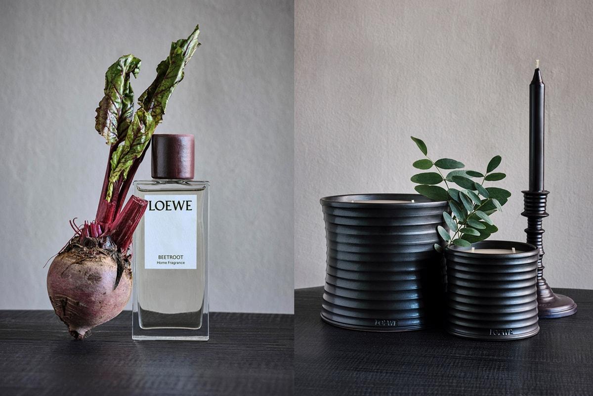 마리화나, 편백, 고수 등 11가지 식물 향기가 담긴 로에베 '홈 센트 라인' 출시