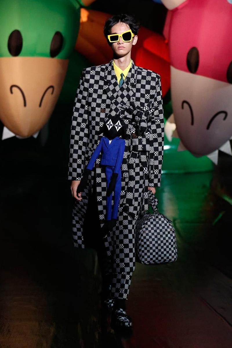 버질 아블로의 루이 비통, 일본 도쿄에서 선보인 2021 봄, 여름 컬렉션 런웨이 무대, 미이케 다카시