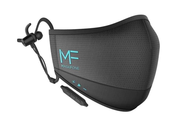 핸즈프리 마스크? 이어폰과 마이크가 장착된 '마스크폰'이 출시된다, 페이스마스크, N95, 비말 차단