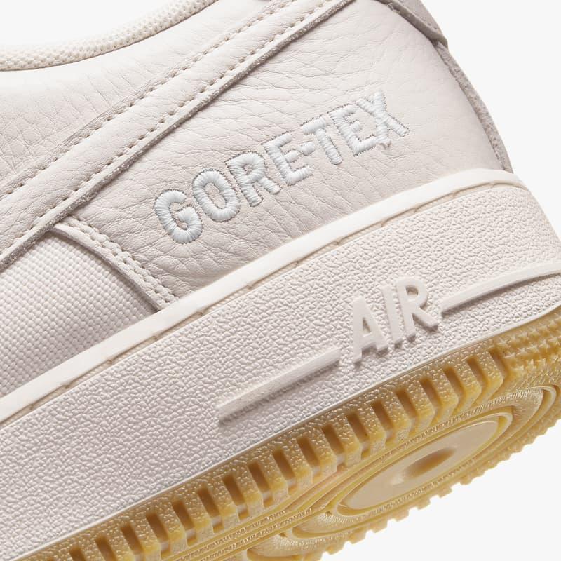 세일 컬러의 나이키 에어 포스 1 고어텍스가 출시된다, 신소재, 겨울 신발, 포스, 올빽포스