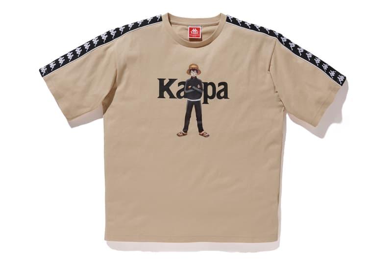 카파 x '원피스' 협업 FW 컬렉션 출시, 트랙슈트, 몽키 D 루피, 트라팔가 로, 로우, 보아 행콕, 점프, 슈에이샤