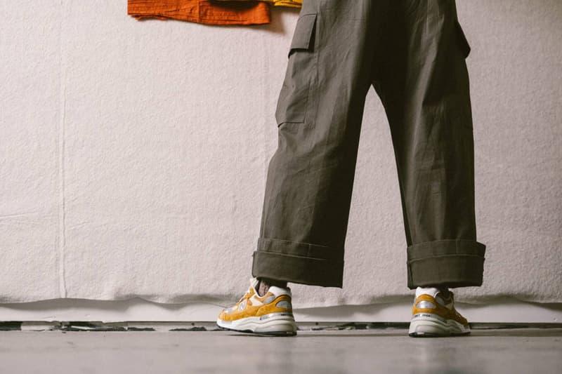 패커 x 뉴발란스 협업 992 스니커 룩북 및 공식 발매 정보, 스티브 잡스 운동화