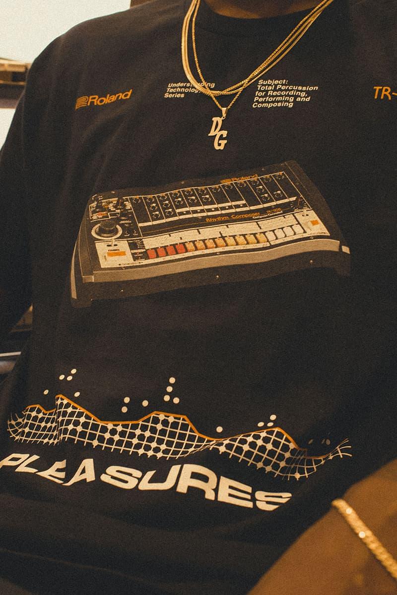 플레져스, 롤랜드 TR-808 출시 40주년 기념하기 위한 의류 캡슐 컬렉션 출시, 리듬 머신