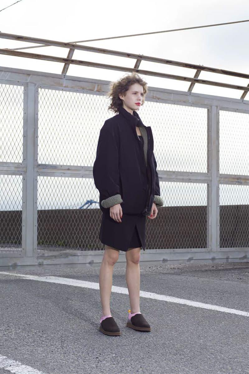 수이코크, 방한 부츠 및 샌들로 구성한 2020 가을, 겨울 컬렉션 룩북 공개, 덕 부츠, 패딩 부츠