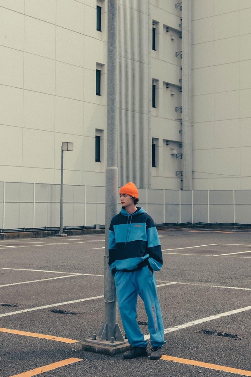 일본 도쿄에서 촬영된 디스이즈네버댓 2020 가을, 겨울 컬렉션 에디토리얼 화보, 룩북