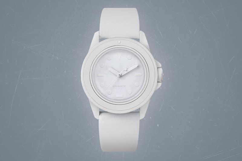 유니매틱 x 미하라 야스히로, 순백으로 뒤덮인 협업 시계 출시 , 워치, 시계, 다이버 워치, 한정판 시계