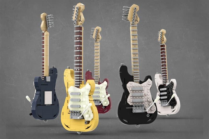 레고 버전 '펜더 스트라토캐스터'가 출시된다? 레고 아이디어스, Music to Our Ears, TOMOELL, 레고 기타, 악기