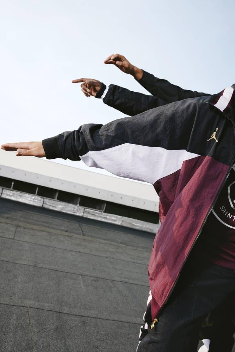 파리 생제르맹 FC x 조던 브랜드 의류 컬렉션 공식 발매 정보, PSG 써드킷 유니폼, 에어 조던 4, 킬리안 음바페