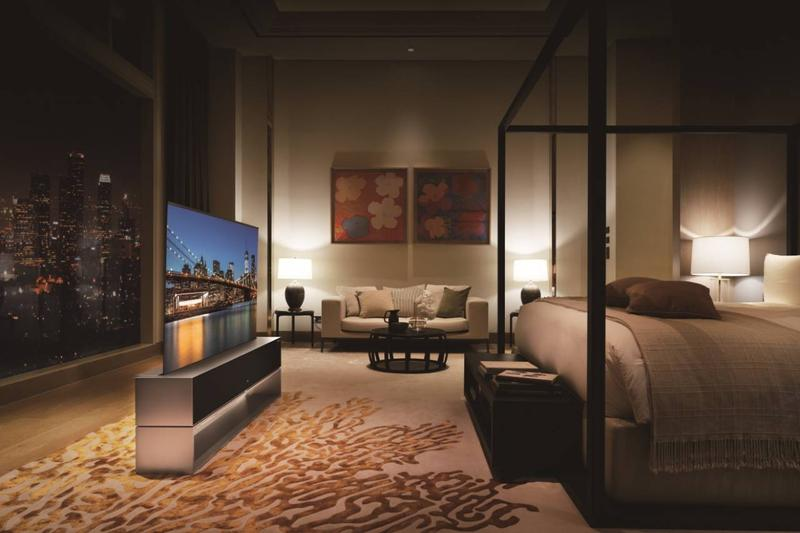 LG전자, 세계 최초의 롤러블 TV 'LG 시그니처 올레드 R' 국내 공식 출시