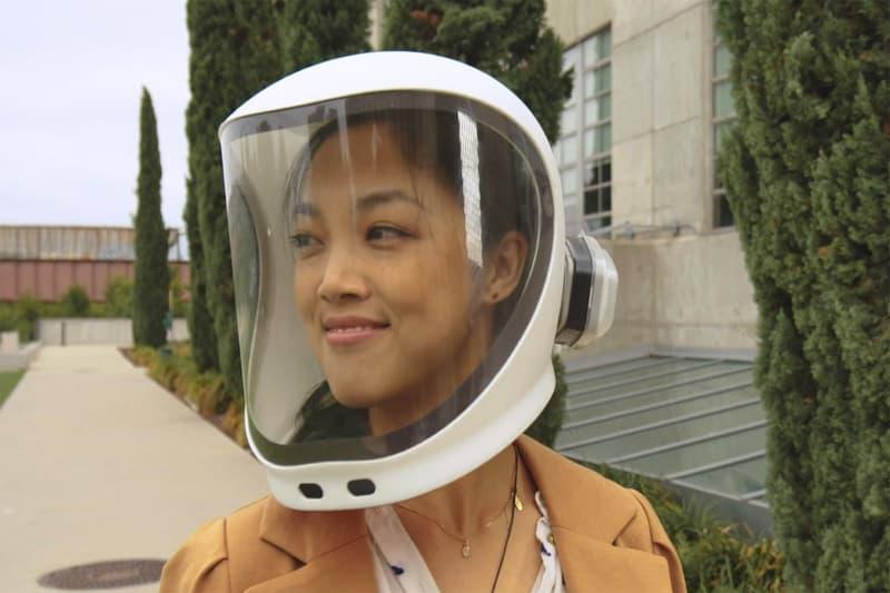 'N95 등급', 오토바이 헬멧처럼 생긴 투명 마스크가 출시된다, 코로나19