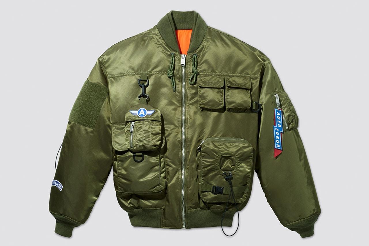 MA-1과 M-65 재킷으로 구성된, 아더 x 알파 인더스트리 첫 협업 컬렉션, 아더 에러, 항공 잠바, 항공 재킷, 엠에이원