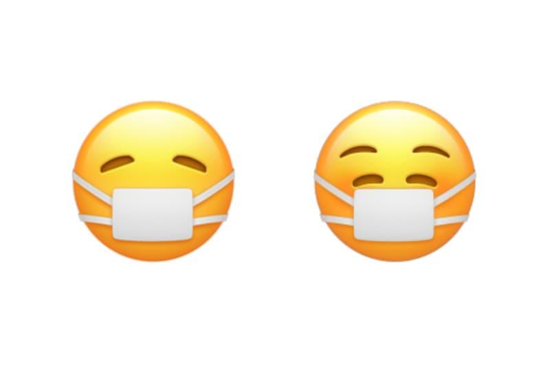 애플, iOS 14.2에서 '마스크 쓴 웃는 얼굴' 이모티콘 업데이트, 아이폰, 아이패드, 마스크 아픈 얼굴, 웃는 얼굴, 이모지