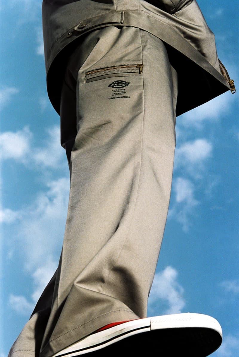 디키즈 x 디스이즈네버댓 협업 캡슐 컬렉션 룩북 및 출시 정보, 인슐레이티드 아이젠하워 재킷, 워크 팬츠, 포켓 티셔츠