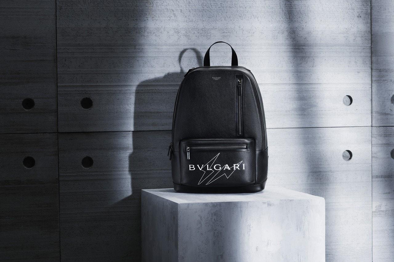프라그먼트 디자인 x 불가리 협업 액세서리 컬렉션 룩북 및 출시 정보, 토트백, 지갑, 백팩, 메신저백, 숄더백, 후지와라 히로시, 번개 로고