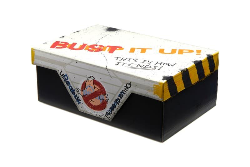 '고스트버스터즈' x 리복 협업 스니커 '고스트 스매셔', 1980년대 영화, 귀신 소탕, 클래식 레더, 레트로, 에일리언 스톰퍼