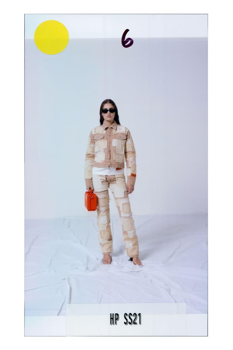 헤론 프레스톤 2021 SS 컬렉션 'K.I.S.S.' 룩북 및 출시 정보, 지속 가능한 패션, 헤론 프레스턴, 패치워크, 업싸이클링, 재활용