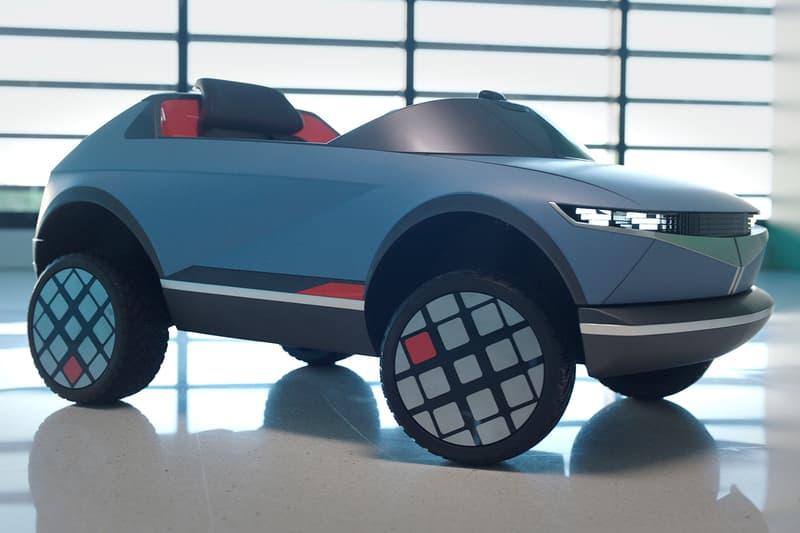 현대자동차, 콘셉트카 '45'를 본따 만든 어린이용 전동차 공개, 레드닷 어워즈, 전기자동차, 테슬라, 현기차, 파라메트릭 픽셀, 감정 인식 차량 컨트롤