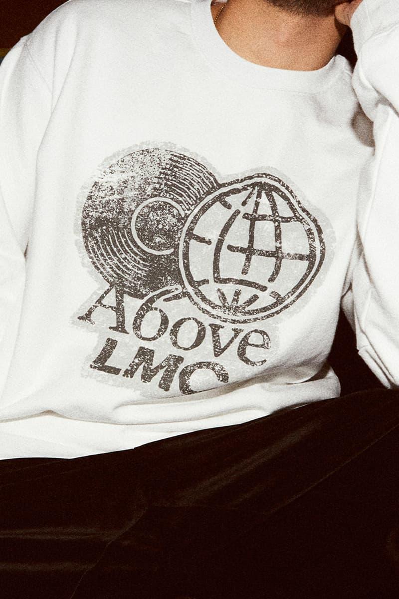 LMC X 어보브 협업 캡슐 컬렉션 룩북 및 출시 정보, DJ 재용, 어글리덕, 제이팍, 박재범, 사이먼 도미닉, 로꼬, 후디, 우원재, 그레이, 아옴그, AOMG