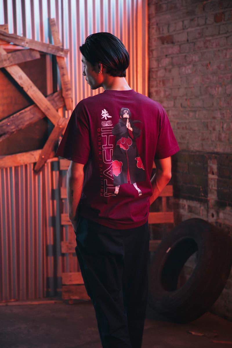 '나루토' x 프리미티브 스케이트보딩 두 번째 협업 컬렉션 공개, 아카츠키, 나루토, 사스케, 우치하, 이타치, 가아라