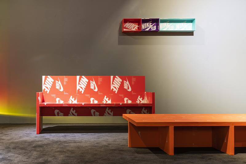 나이키 슈박스를 오브제로 재탄생시킨 이규한 작가의 전시회, 매니악, 신발 상자, 박스, 'The Pattern is The Pattern.', 재활용