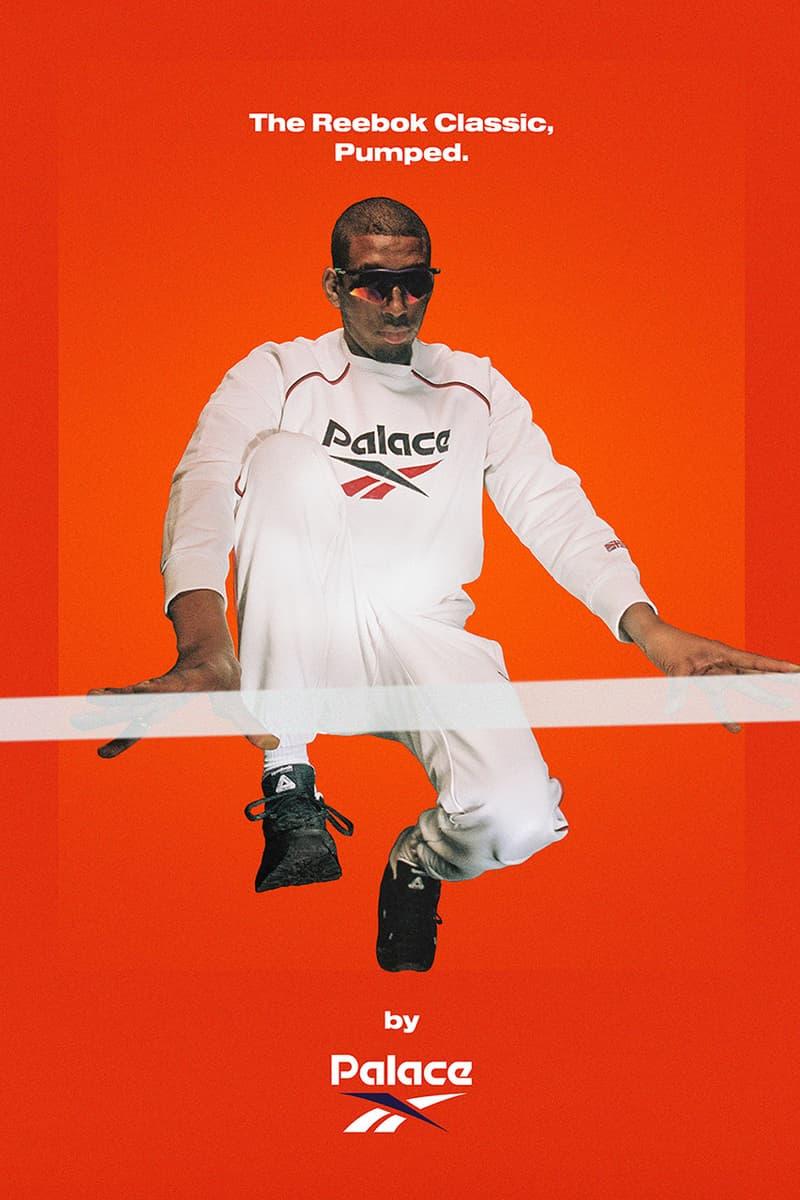 팔라스 x 리복 클래식, 협업 펌프 및 의류 컬렉션 출시, 스웨트팬츠, 티셔츠