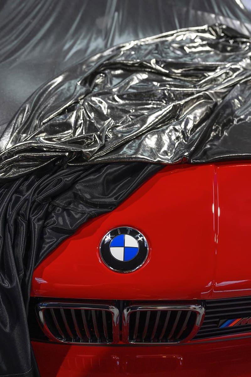 로니 피그, 키스 x BMW 협업 자동차 실물 공개, E30 M3, 1989년식, kith
