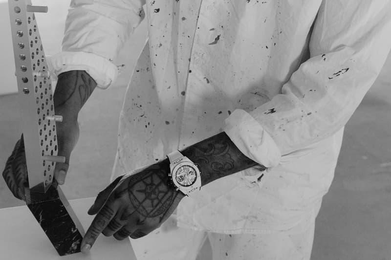 어 콜드 월의 사무엘 로스가 위블로의 새로운 앰버서더로 임명됐다, LVMH, 명품 시계, ACW