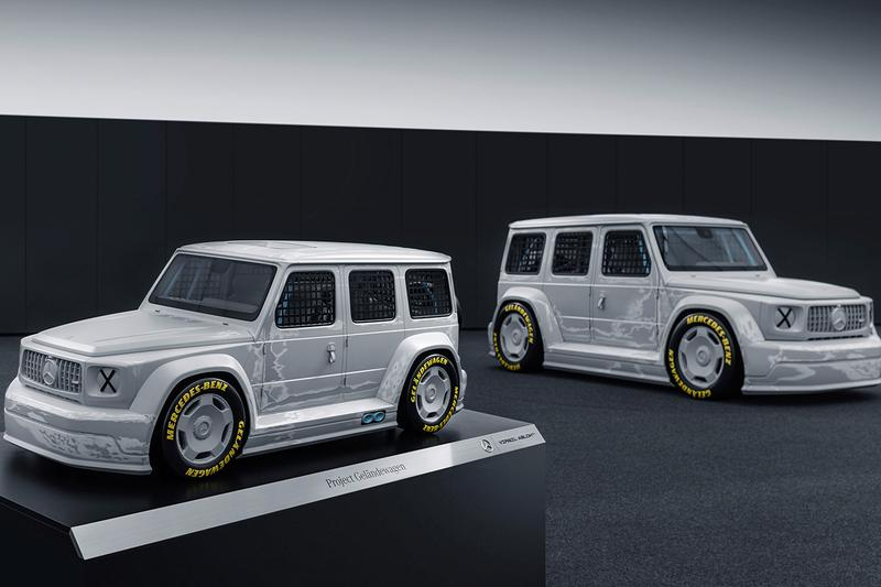 버질 아블로 x 메르세데스-벤츠의 'G바겐' 모형이 무려 2억3천만 원에 팔렸다, 겔렌데바겐, 협업 자동차