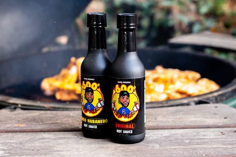 뮤지션 블랙이 두 가지 맛 핫소스 '600°'를 출시했다, 애틀랜타, 6pc Hot Ep