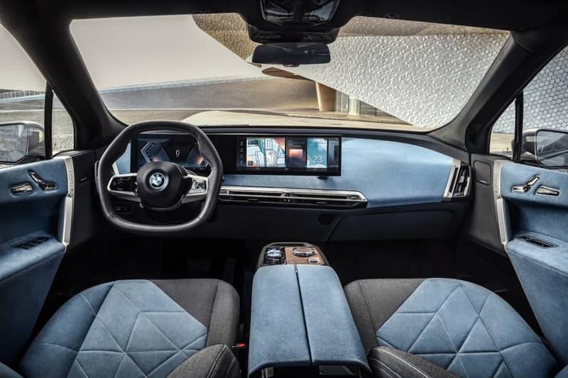BMW, 새로운 전기 SUV 'iX' 전체 디자인 공개, i넥스트, EV모델