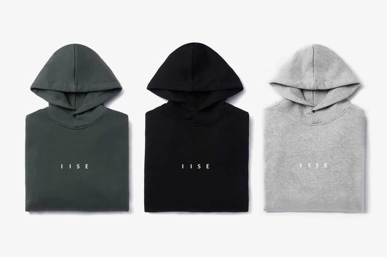 이세, 2020 가을, 겨울 에센셜 라인 출시, 후디, 스웨트팬츠, 모자, 비니, 티셔츠