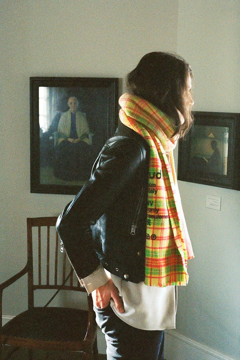 올겨울을 위한 아크네 스튜디오 머플러 컬렉션 출시 정보