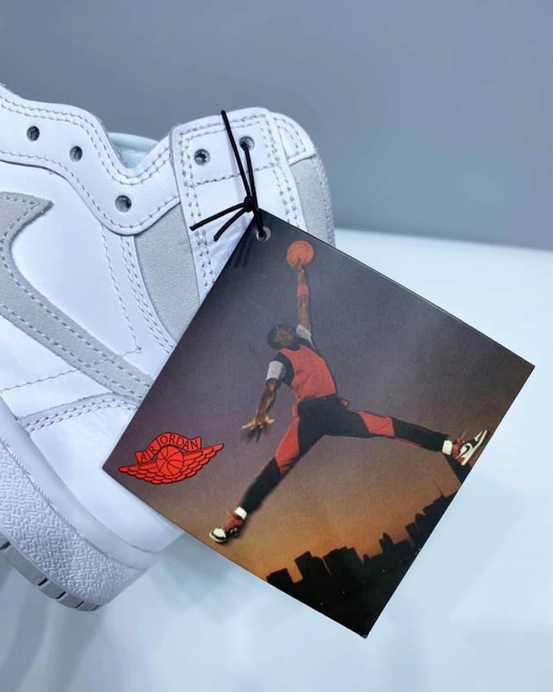 에어 조던 1 레트로 하이 '85 '뉴트럴 그레이' 실물 사진 유출, 마이클 조던, 1985 레트로, 시카고, 바시티 레드
