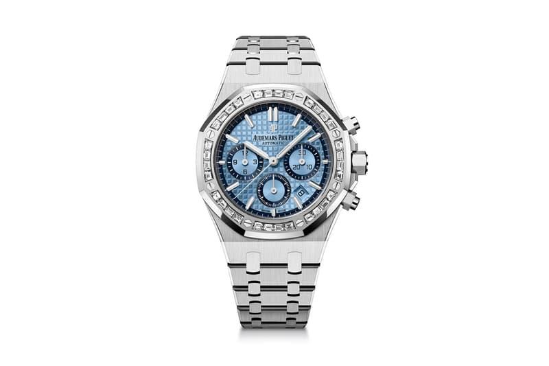 베젤에 다이아몬드가 박힌, 오데마 피게 로얄 오크 크로노그래프 홍콩 스페셜 에디션 출시, 시계 갤러리, 고급 시계, 부티크, 다이아