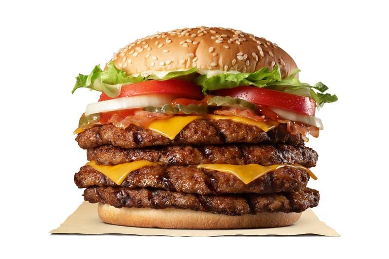 버거킹, 빵 대신 고기 넣은 신메뉴 '익스트림 슈퍼 원 파운드 비프 버거' 출시