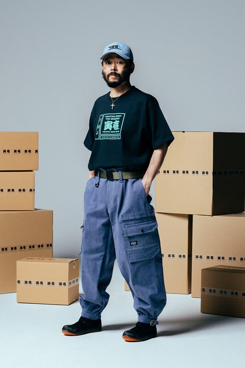 다니엘 아샴, 일본 워크웨어 브랜드 토라이치와의 협업 의류 컬렉션 출시, 스튜디오 2G