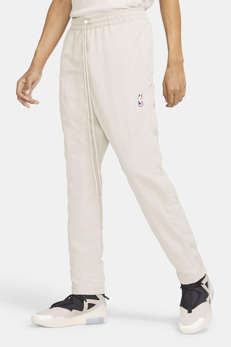 피어 오브 갓 x NBA x 나이키 의류 컬렉션 국내 출시 정보, 제리 로렌조, 농구복, 웜 업 팬츠, 슈팅 셔츠, 농구 재킷, 바스켓볼 재킷