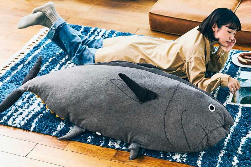 실제 참치 크기로 제작된 '참치 쿠션' 출시, 긴키대학, 수산물 연구소, 킨키대학, 일본, 마구로, 스시