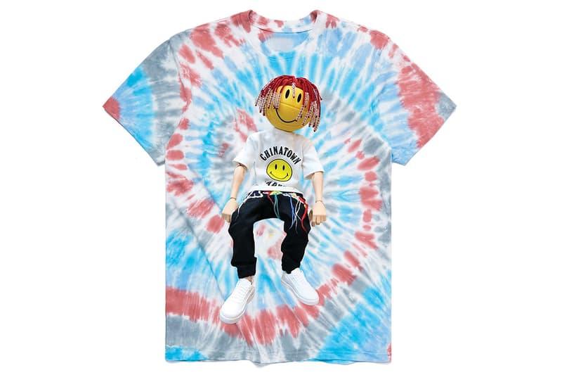 릴 야티 x 차이나타운 마켓 협업 타이다이 & 블랙 티셔츠 출시, 릴 야리, 온라인 콘서트, 농구공, 쿨레인라보, coolrainlabo