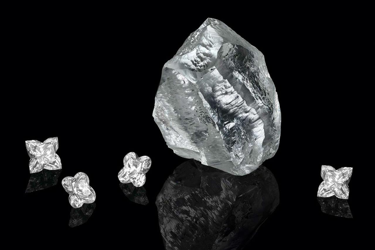 루이 비통이 무려 5백49 캐럿의 '세투냐' 다이아몬드를 매입했다, 슈엘로, Sethunya, 금강석, 보석, 캐럿, 세튜나, 세투나, 세튜냐